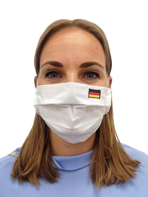 Rúško nemecká vlajka...