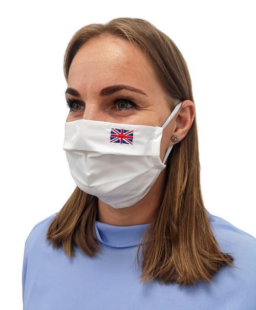 Rúško vlajka Veľká Británia...