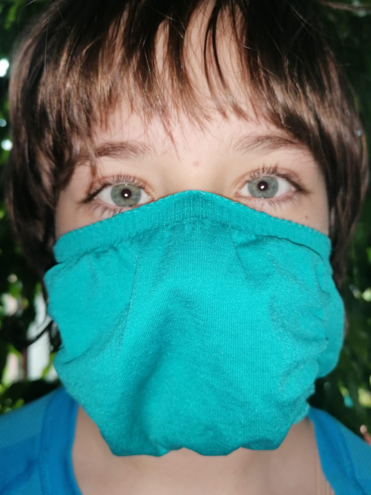 Seamless rúška na tvár...