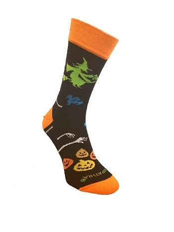 HALLOWEEN SOCKS WITCHES